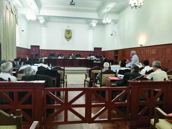 AUDIENCIA. En el caso FOCAS en el Tribunal Supremo de Justicia.