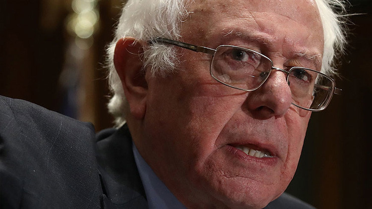 Bernie Sanders arremete contra Trump: