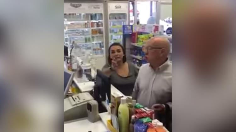 VIDEO: Incidente xenófobo en una farmacia chilena causa indignación en la Red