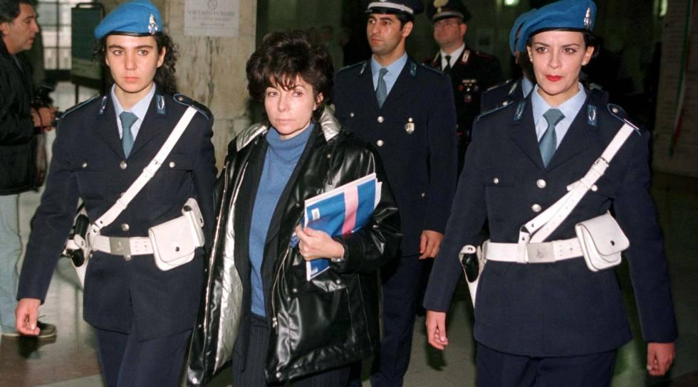 Patrizia Reggiani, viuda de Gucci.