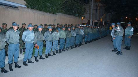 Guardia militar vigilará los trabajos de estabilización en Auquisamaña.