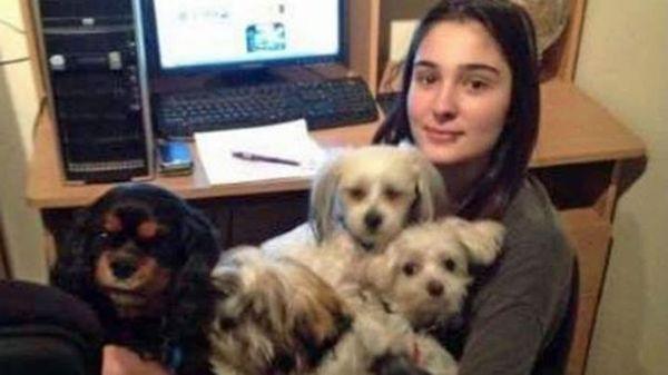 Cassidy con sus perros. Los últimos dos años de su corta vida fueron un infierno