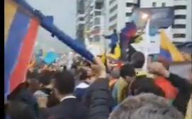 """Ecuatorianos gritan a su CNE: """"No nos da la gana una dictadura como la venezolana"""""""