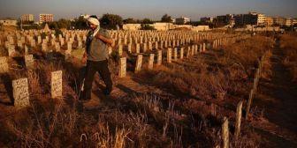 Masacre terrorista: encontraron una fosa común con 130 cuerpos en Siria