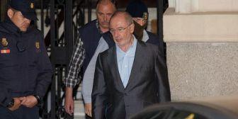Condenaron al ex director del FMI Rodrigo Rato a cuatro años de prisión por fraude