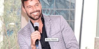 Ricky Martin reveló quién fue su primer crush masculino