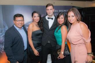 Jaime Calderón, Sandra Cortez, Andrew Nugent, Tatiana Monje e Isabel Carvajal