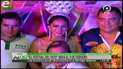 Se viene el Festival del Pato