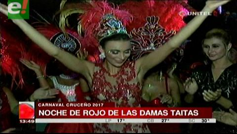"Las damas Taitas vivieron su gran ""Noche de Rojo"""