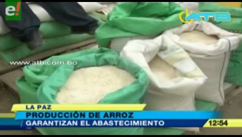 Garantizan abastecimiento de arroz en el país