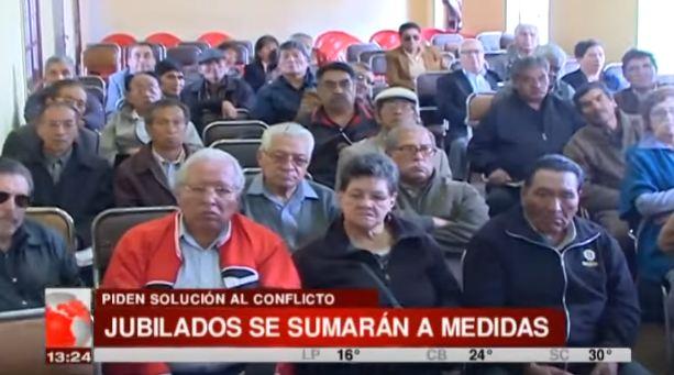 Jubilados y Rentistas aseguran que tomarán las oficinas de la Caja Nacional