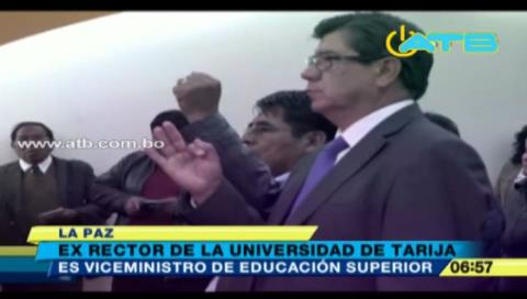 Posesionan a dos nuevos viceministros de Educación