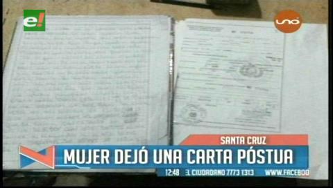 Mujer deja carta póstuma antes de envenenar a sus hijos y suicidarse