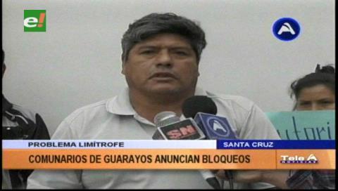 Pobladores de Guarayos amenazan con bloqueo, rechazan resolución del INRA