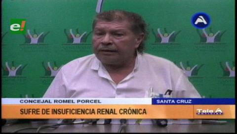 Concejal Pórcel con baja médica por insuficiencia renal