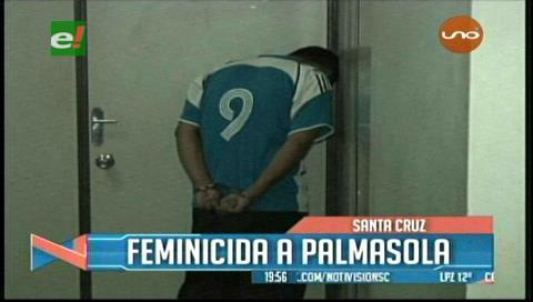 Feminicidio: Envían a Palmasola a sujeto que mató a su mujer de un disparo