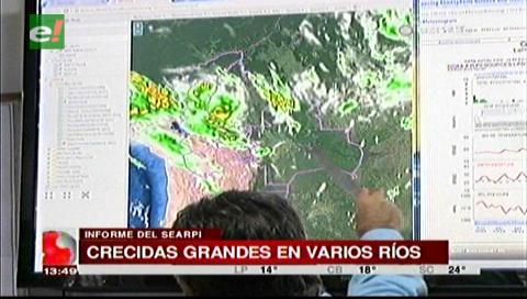 Santa Cruz: Searpi anuncia crecida en varios ríos del departamento por las lluvias