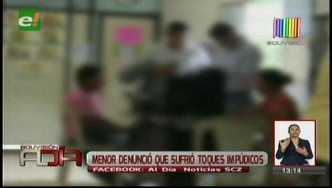 Niña denunció que sufrió toques impúdicos en Palmasola