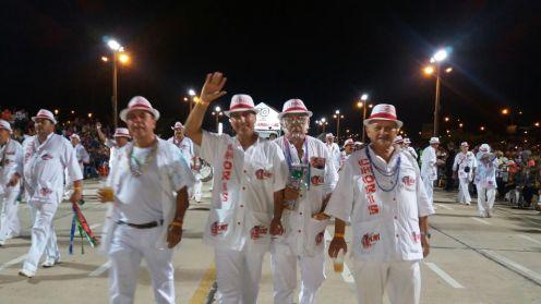 Negro Ferrufin, Papi Suarez y Mosiño Serrano