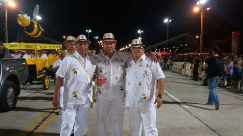 Negro Ferrufini, Papi Saurez y Mosiño Serrano