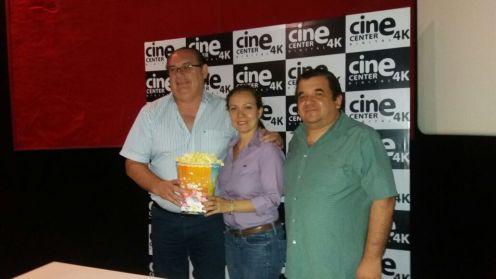 Yordi Chaparro,Esteban Morgado y Carolina Correa