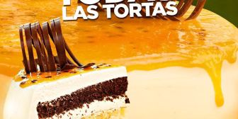 50% de descuento para todas las tortas de Fridolín este 15 de febrero por su aniversario y hasta agotar stock