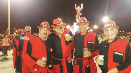 Tauras: Herlan Vaca Díez, Manfredo Kempff y Mario Anglaril