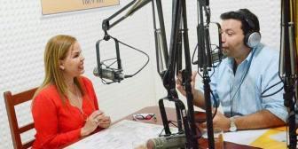 """Angélica Sosa: """"Quien manda en esta ciudad es Percy Fernández, yo soy una colaboradora"""""""