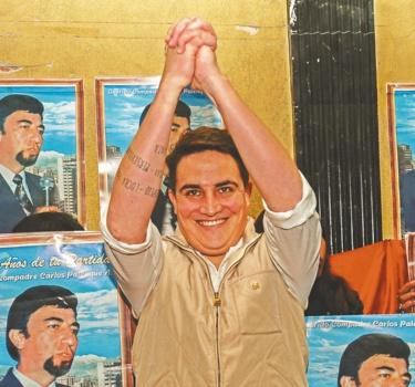"""""""Las elecciones municipales serán nuestra opción"""": Carlos Palenque Monroy, hijo del """"compadre"""""""