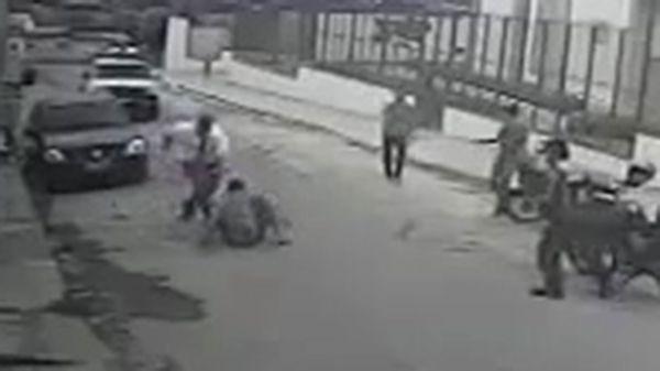 Un mormón le dio una tremenda paliza a un ladrón