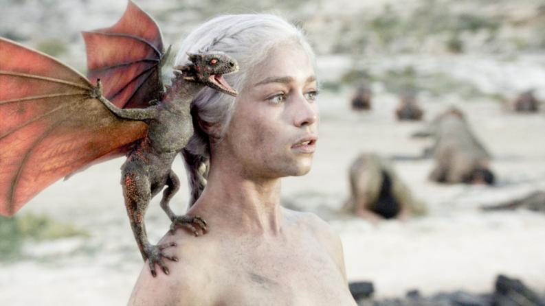 Daenerys Game of Thrones 01