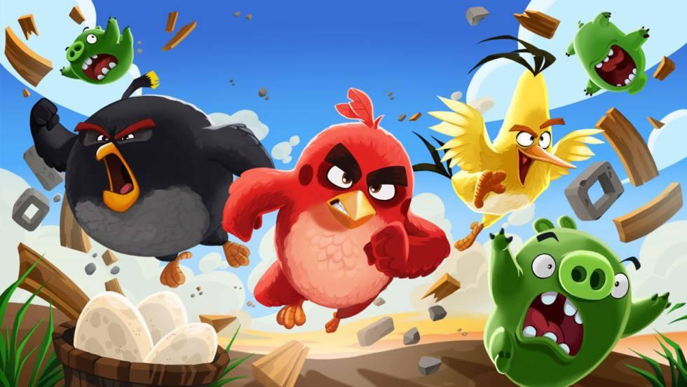 Angry Birds encabeza la lista negra de las aplicaciones vetadas en los móviles de empresa.