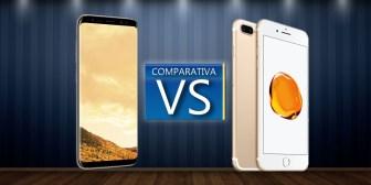 Samsung Galaxy S8 Plus VS iPhone 7 Plus: comparativa con todas las diferencias