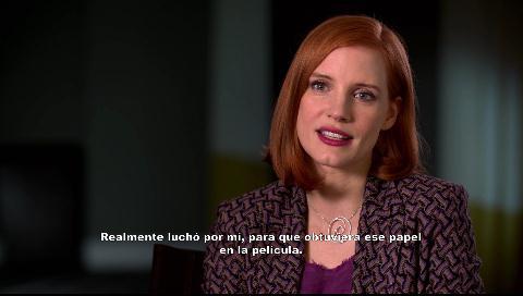 """Jessica Chastain habla sobre su nuevo film """"Sola contra el poder"""""""