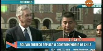 Video titulares de noticias de TV – Bolivia, mediodía del martes 21 de marzo de 2017