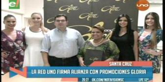 Promociones Gloria anuncia alianza televisiva
