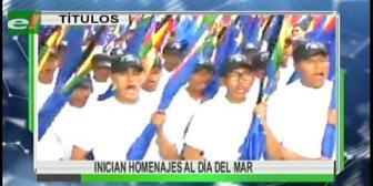 Video titulares de noticias de TV – Bolivia, mediodía del miércoles 22 de marzo de 2017