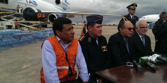 Gobierno envía más de 3O toneladas de ayuda humanitaria a Perú