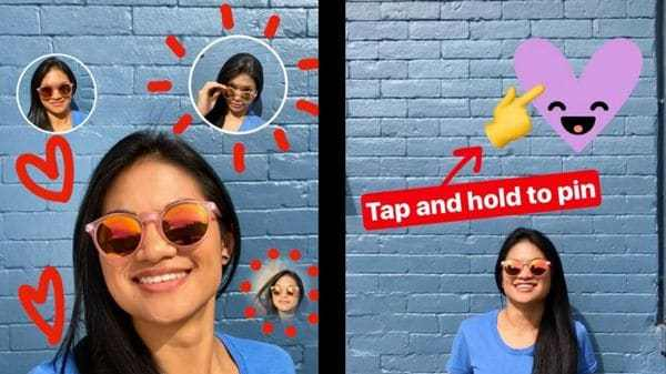 instagram selfie stickers