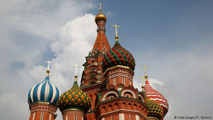 Russland Kreml Basilius-Kathedrale in Moskau (Getty Images/C. Spencer)
