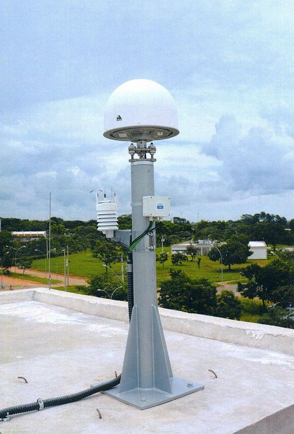 Antenas como esta son las que se ven en el centro de espionaje montado por Moscú en Nicaragua (Getty Images)