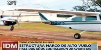 Paraguay: requisaron veinte avionetas utilizadas para actividades del narcotráfico