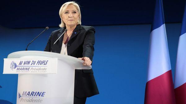 Disputan victoria Macron y Le Pen