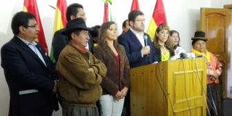 Unidad Nacional exige a Evo Morales no usar al Estado para apoyar al régimen de Maduro