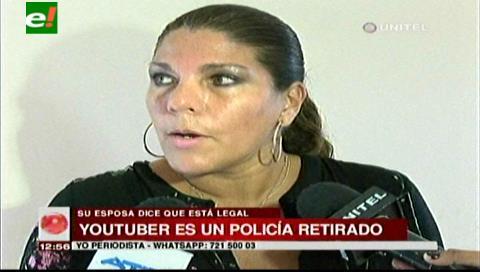 Esposa de Youtuber colombiano afirma que está legalmente en el país hace ocho años