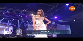 Miss Santa Cruz 2017: Desfile en traje de gala