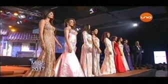 Miss Santa Cruz 2017: Las 8 finalistas
