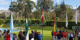 Torneo de golf de menores se juega en la cancha más alta del mundo