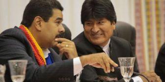 El evismo apoya a la dictadura madurista