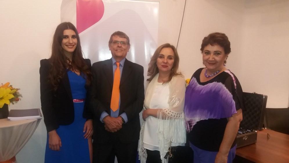 Claudia Manzano, Johannes , Ximena Behoteguy y Marta Arce